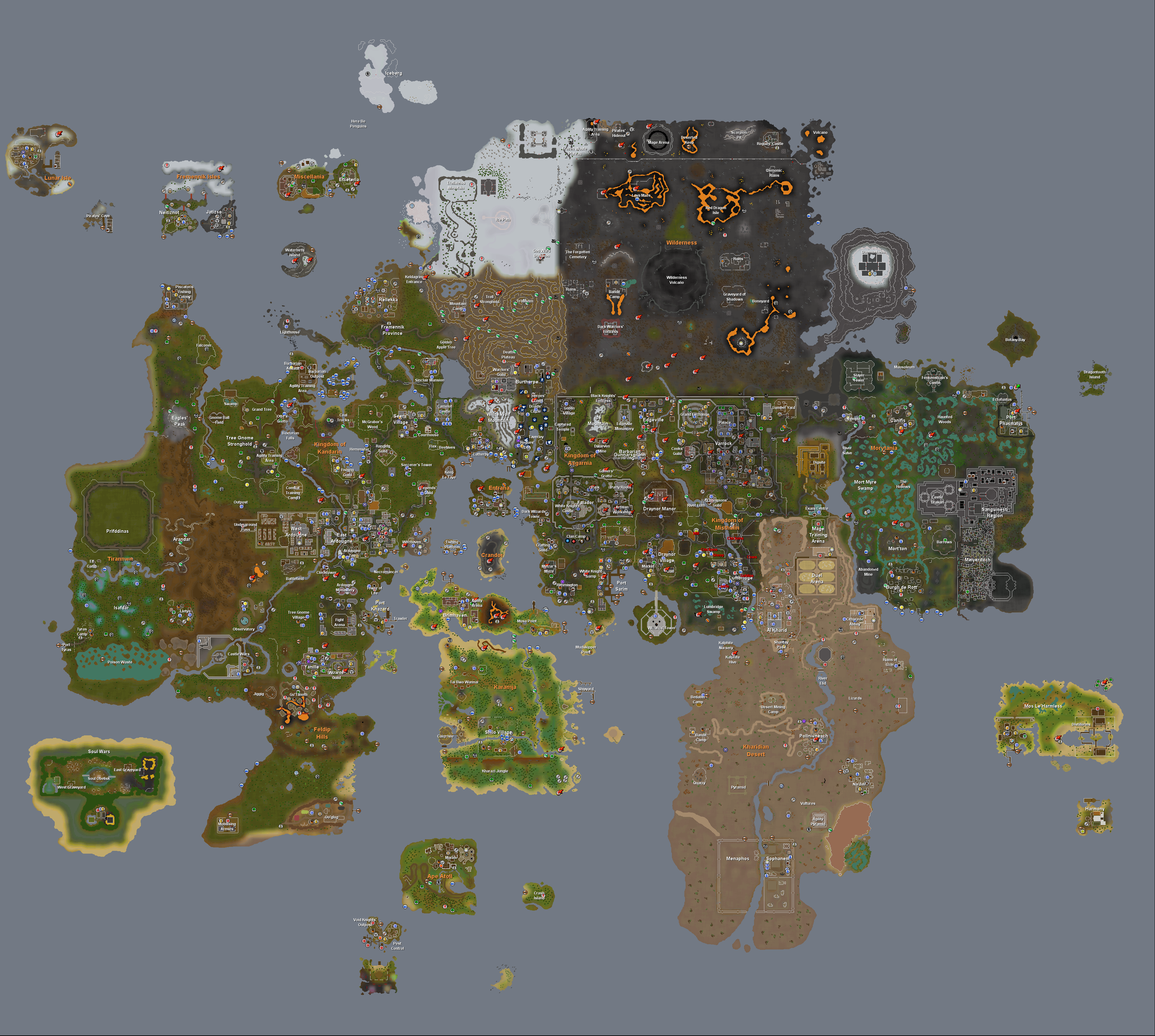 Image runescape worldmapg runescape wiki fandom powered by 1906 december 12 2012 publicscrutiny Image collections