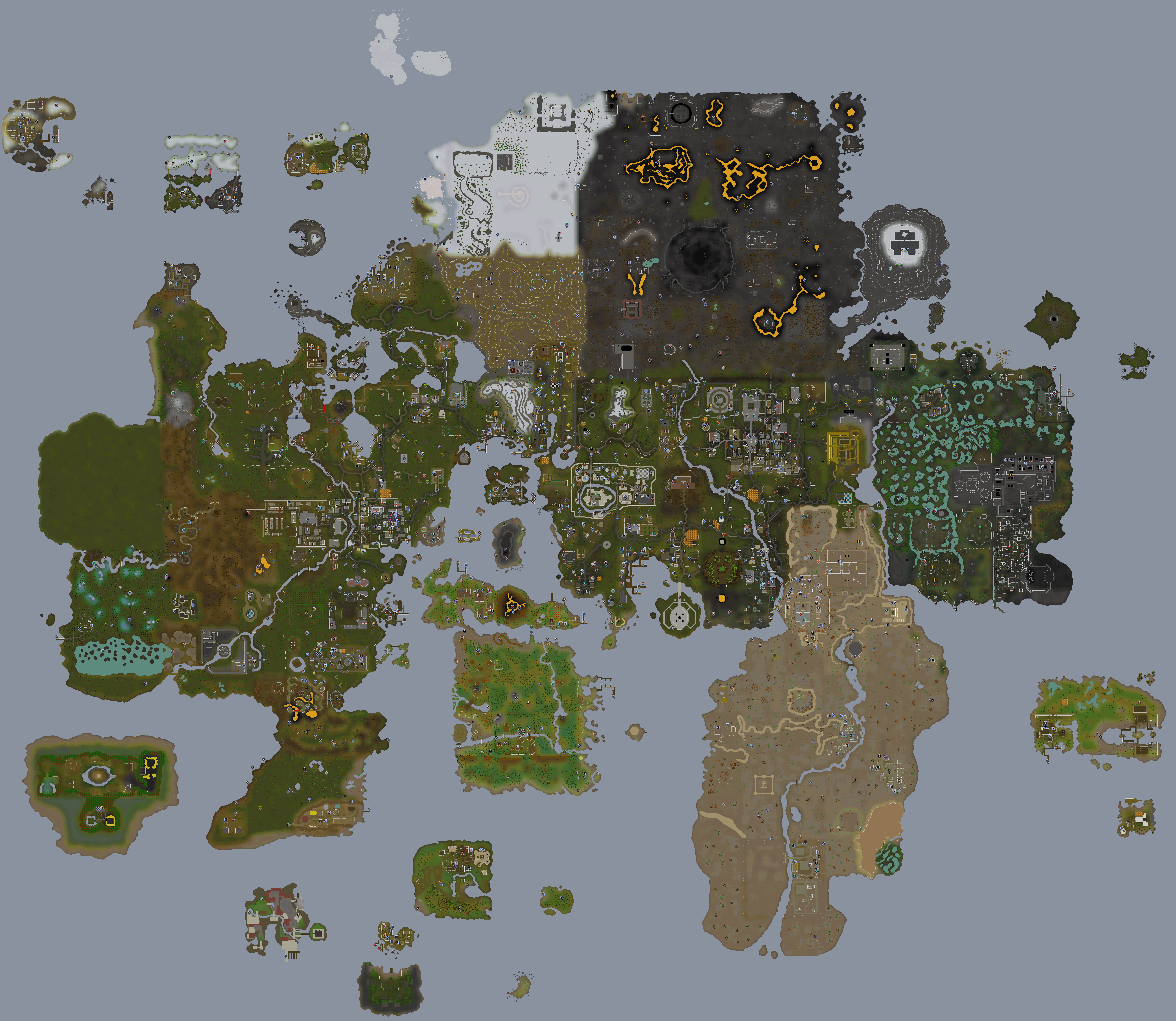 World map runescape wiki fandom powered by wikia runescape worldmap sciox Images