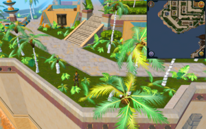 Scan clue Menaphos Imperial district south-west of Grand Library