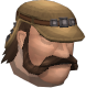 Stonemason chathead