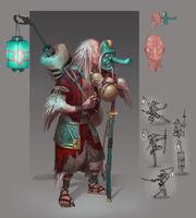 The Tengu concept art