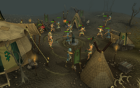 Warband battle