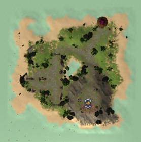 Anniversary island map