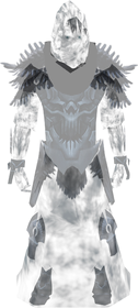 Ghostly reaver outfit equipped