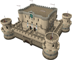 Mobilising Armies siege castle