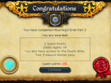 Mourning's End Part II/Quick guide