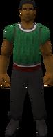 Retro woolen vest (male)
