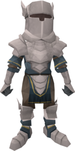 Tiny White Knight pet