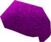 Violet afro detail