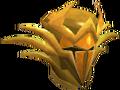 Golden warpriest of Zamorak helm chathead.png