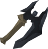 Off-hand primal battleaxe detail