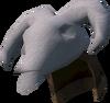 Ram skull helm detail