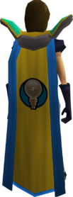 Retro invention cape (t) equipped