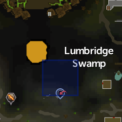 Small Rift (Lumbridge Swamp) location