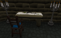 Staff of Armadyl table