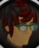 Stylish glasses (green) chathead.png
