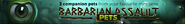 Barbarian Assault pets lobby banner