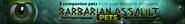 Barbarian Assault pets lobby banner
