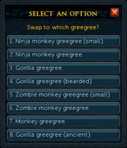 Greegree interface