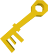 Jail key detail