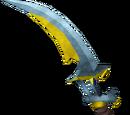 Off-hand exquisite sword