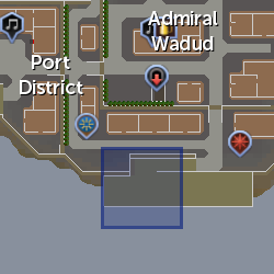 Riddler crab location