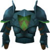 Rune platebody (h4) detail