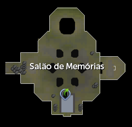 Salão de Memórias mapa