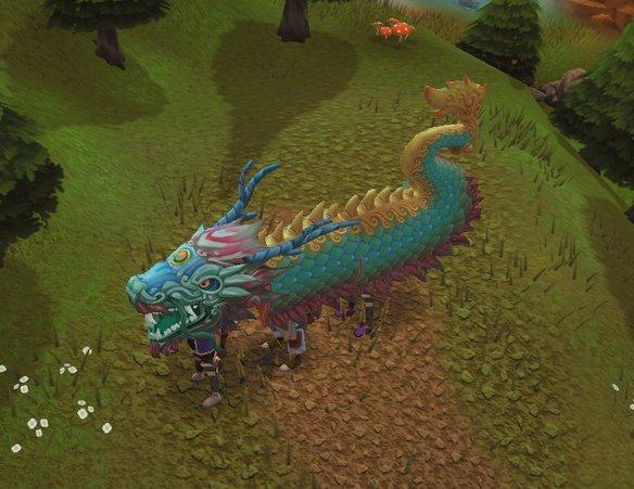 Zodiac dragon costume news image