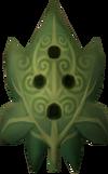 Akateko orokami mask detail