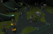 Battle at Guthix's Cave