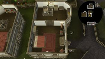 Empty Room Escape Horse Puzzle