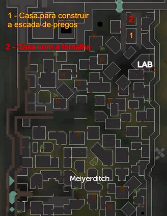 Legado do Vidente mapa