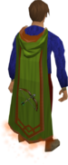 Ranged master cape equipped