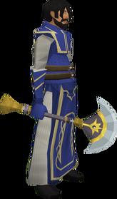 Uraeus (Apep's axe) equipped