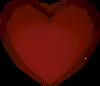 Valentine heart detail