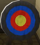 Archery target (Lumbridge)