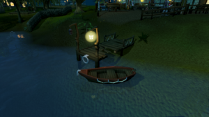 Draynor dock