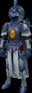 Lunite Armour equipped
