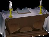 Mahogany altar