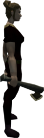 Marmaros hatchet equipped