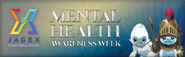 Mental Health Awareness Week lobby banner
