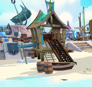 Message in a bottle (Springbreak Island) in-game