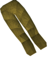 Werewolf legs (gold, male) detail