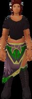 Wolf-fur sarong