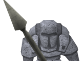 Ork statue