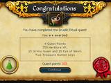 Druidic Ritual/Quick guide