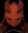 Elmo dragônico médio detalhe