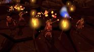 Fire dancers (Emmett)