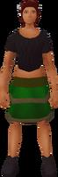 Retro layered skirt